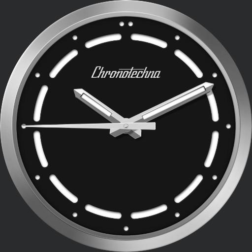 Chronotechna - Blackest watch ever made.