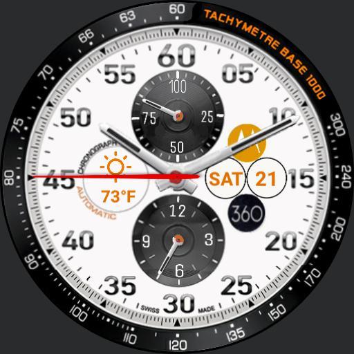 Moto Tachymeter Weather