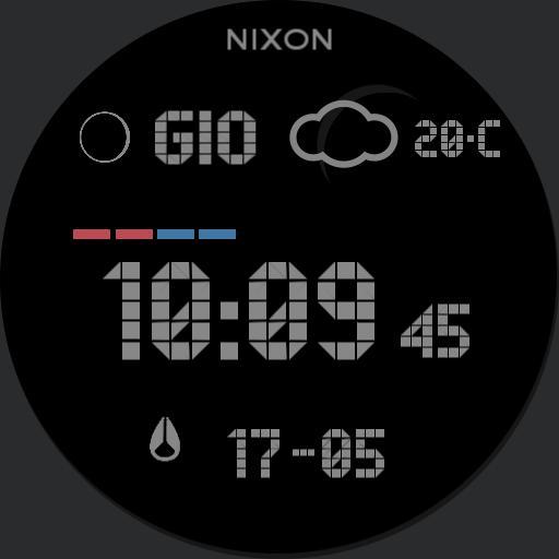 Nixon Super Unit Grey Custom Surf New Copy