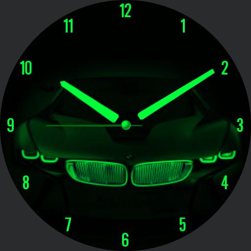 BMW GREEN NEON