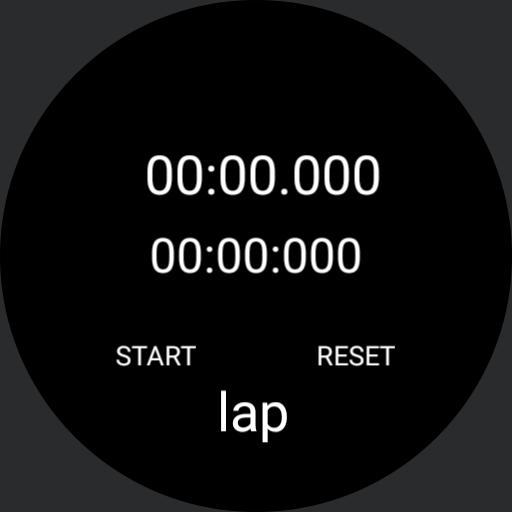 lap timer sample