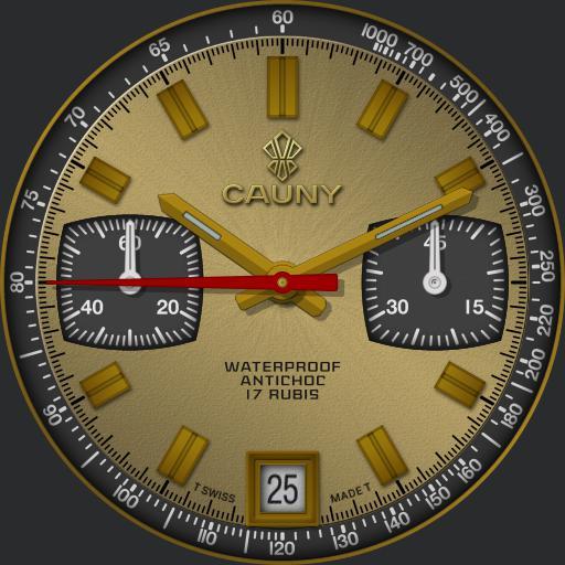 Cauny Chronograph C.1970s