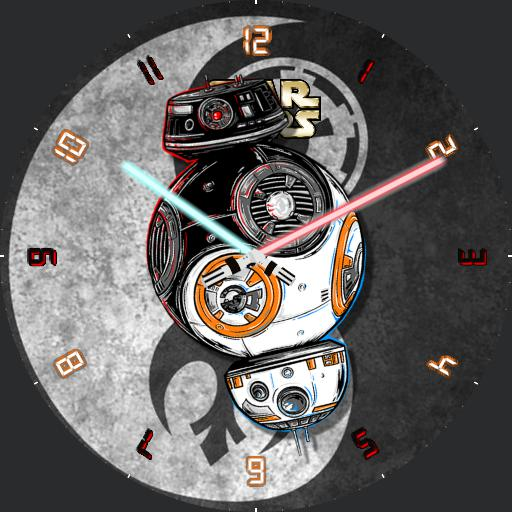 BB-8 and BB-9E Yin Yang
