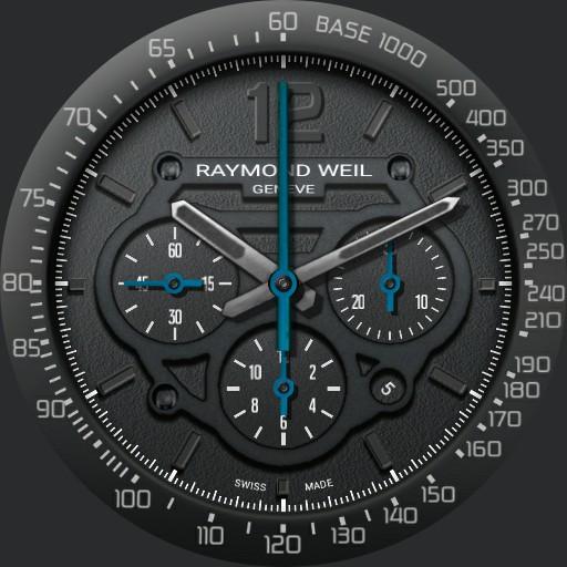 Orilama watch 160 Raymond Weil lock