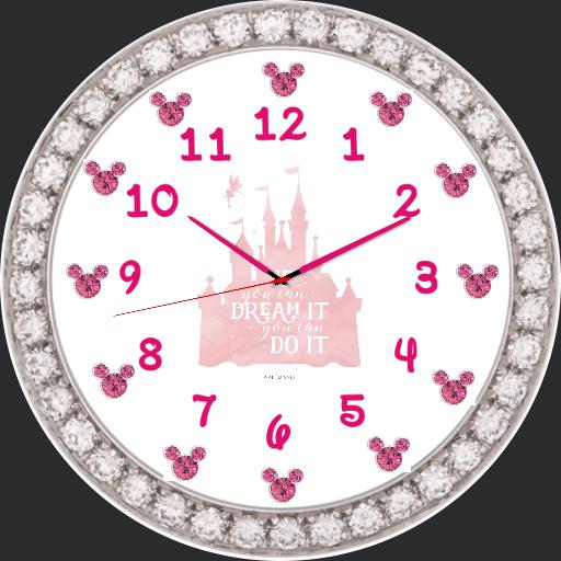 Disney pink