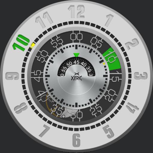 0 Xeric Cypher Silver Green