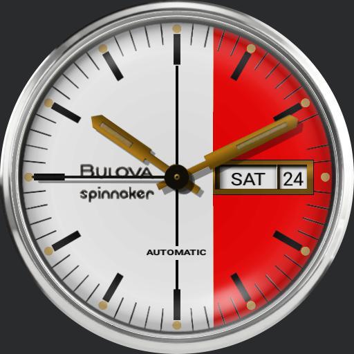 Bulova Spinnaker 2 Red