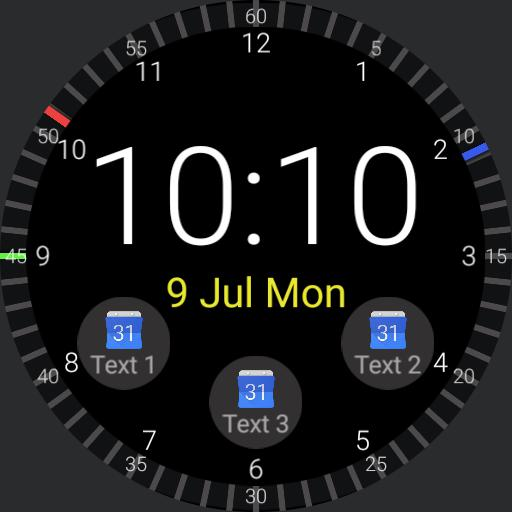 Linear Watchface V3