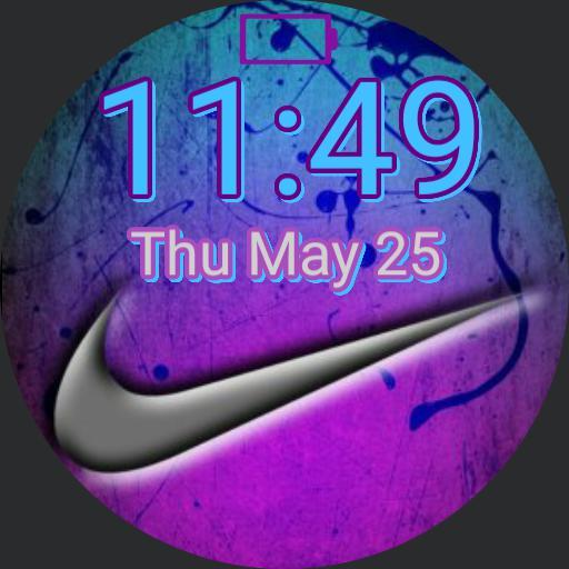 Blue/Purple Nike