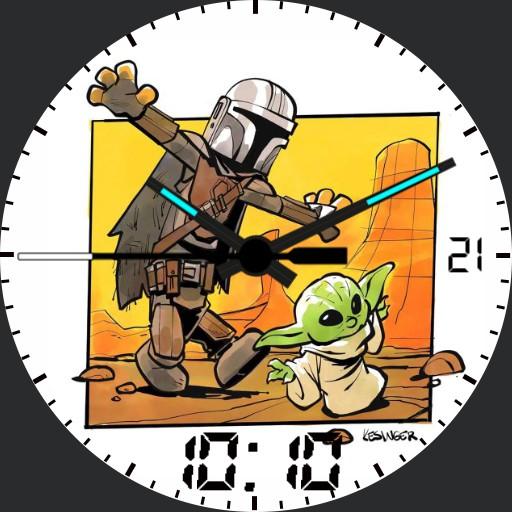Mandalorian and Yoda