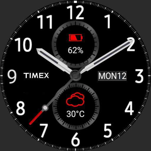 Samsung Gear S3 Frontier Red 3 Copy