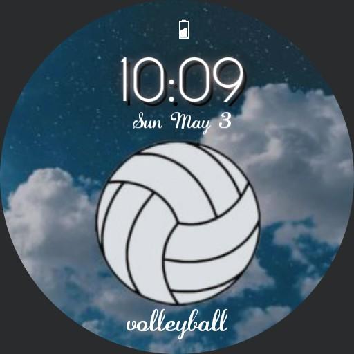 Volleyball watchface