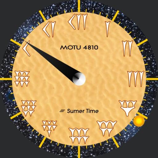 "MOTU 4810 ""Sumer Time"""