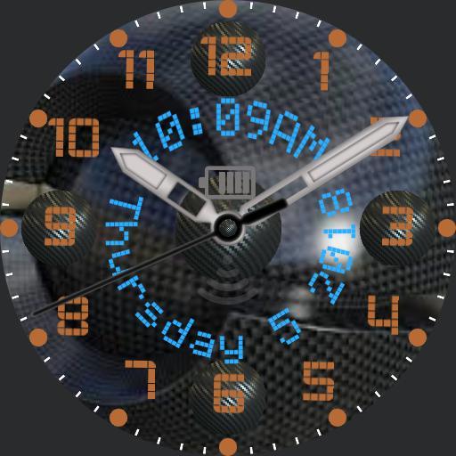 Styleknight Cyber Carbon Orange