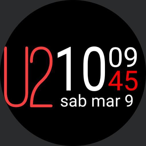 U2 Red  Black