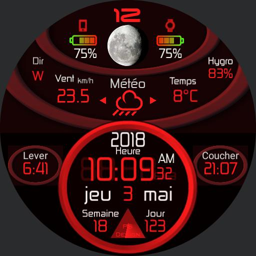 Meteo Station Red