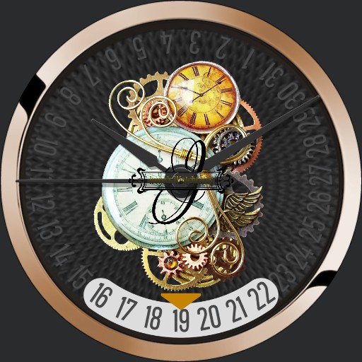 Steampunk Watch 2 Dim