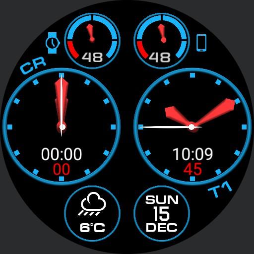 Multi-dial chrono/Time Zone v1.6