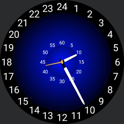 GP - 24 hr Analog - Blue