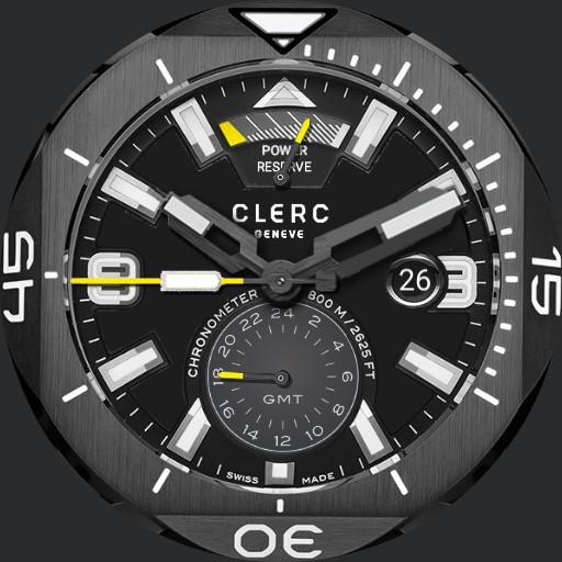 Clerc GMT Power Reserve Chronometer ucolor