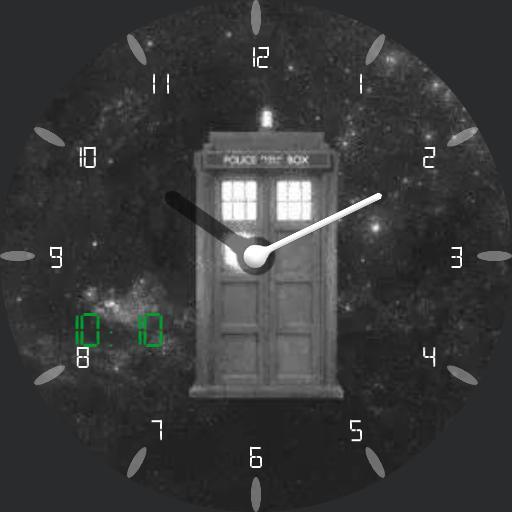 old school TARDIS