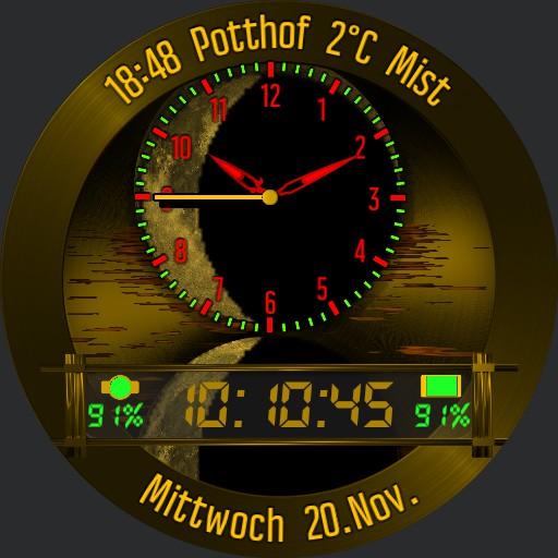 0137 Moonlight clock