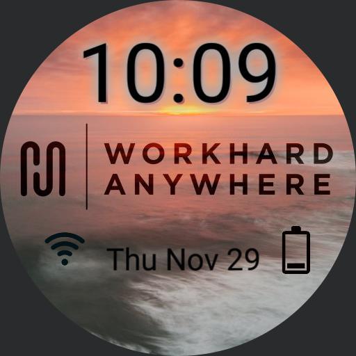 work hard anywhere