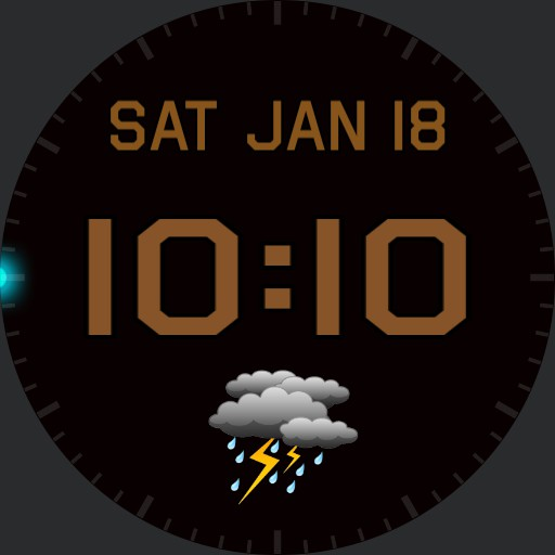 Time, Seconds Date  Weather