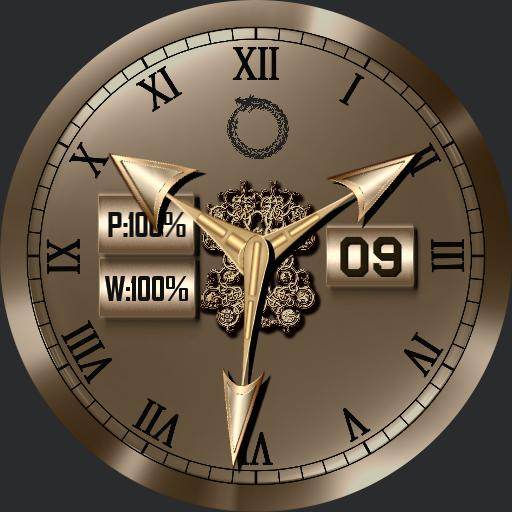 Ouroboros 3 Face watch and Face cover.