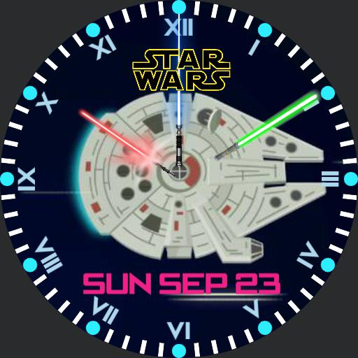 Millenium Falcon Flop Around Star Wars