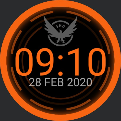 Division Agent ACTIVATED Reworked/46mm option2