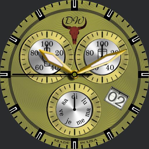 DW Designed  classic Gold