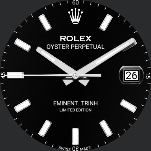 LEX OYSTER PERPETUAL DATEJUST 2017  BLACK