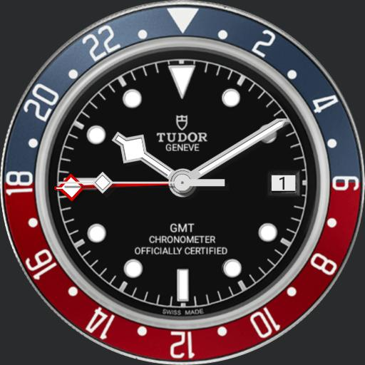 0 Tudor GMT dual time