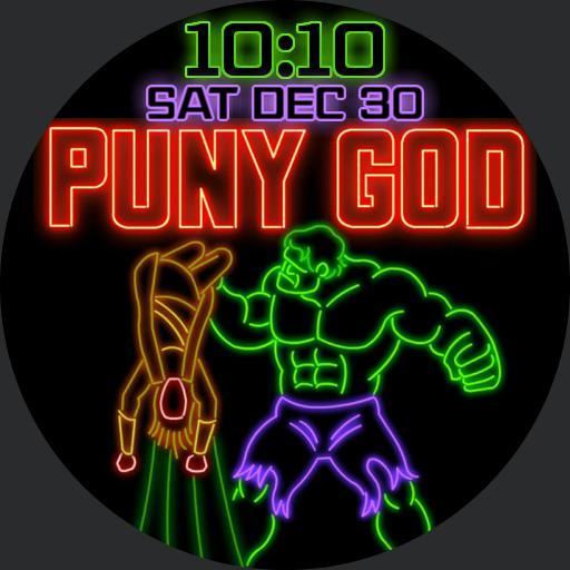 Hulk Puny God