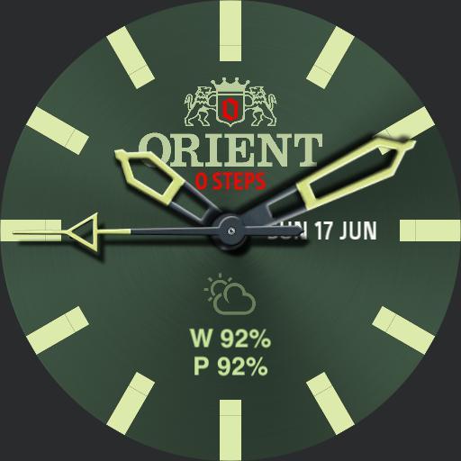 Orient Military Dark Green