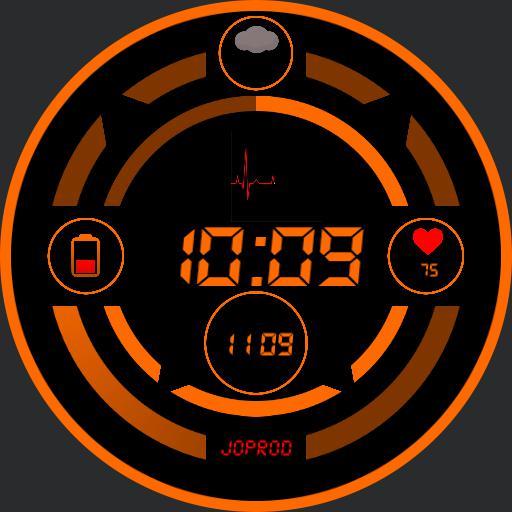 Orange indicator
