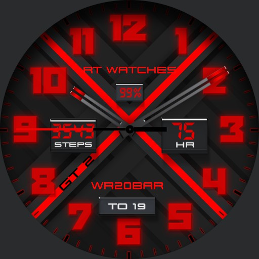 RT Watch GT 2 Red