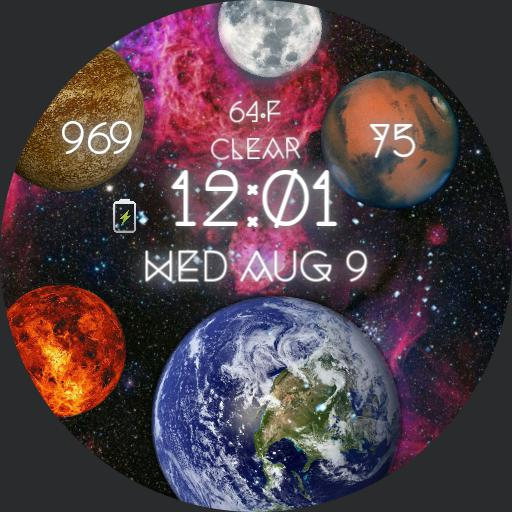 Lost in Space by Face Pop Watchface Wear