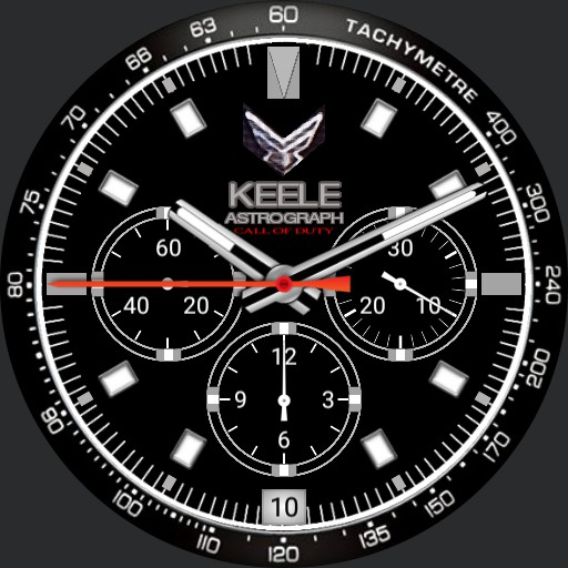 Call of Duty Modern Warfare KEELE Astrogram Black