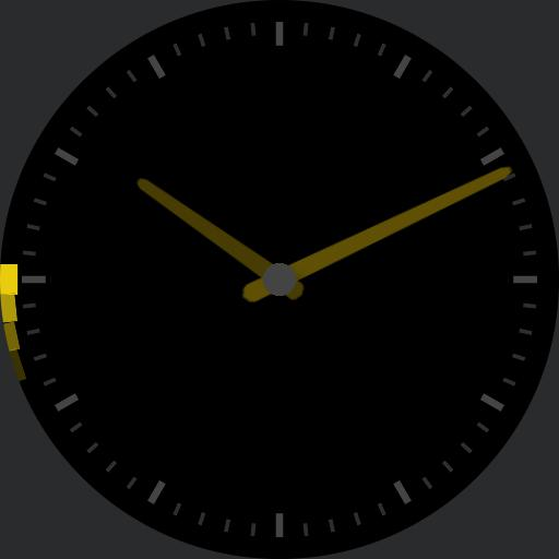 Simple Analogue with Animated Seconds