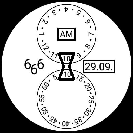 666 Sanduhr
