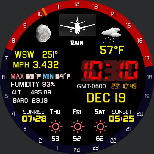 All weather mod Pilot watch Copy jc