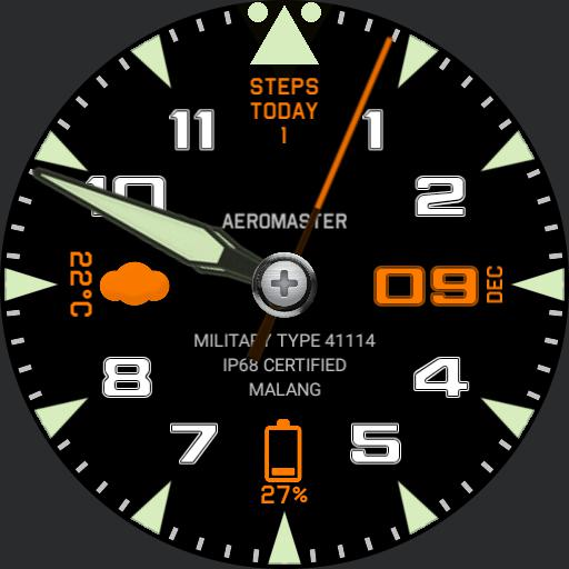 Aeromaster Pilot with Dimmed