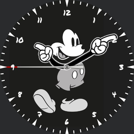 Mickey Mouse Bkack