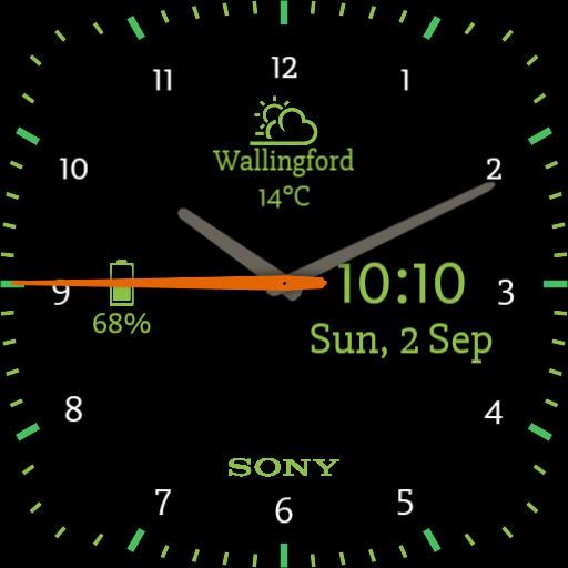 Sony Luminous Green Square