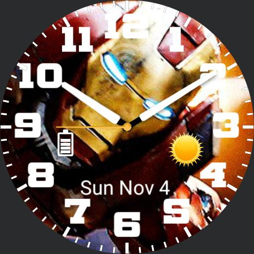 Ben Ironman3 WatchFace