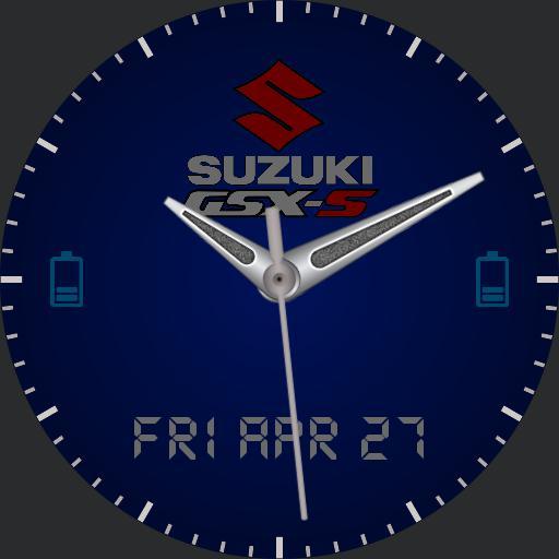 SUZUKI GSX-S BLUE V06