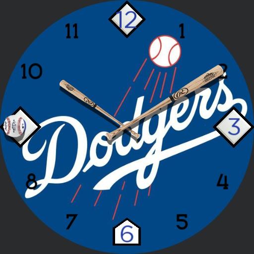 Dodgers blue