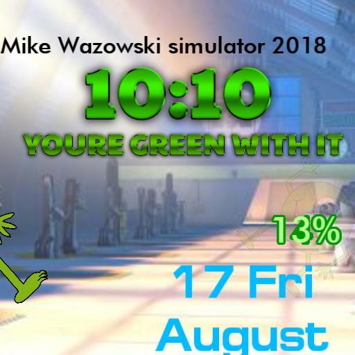Mike Wazowskis watch romp